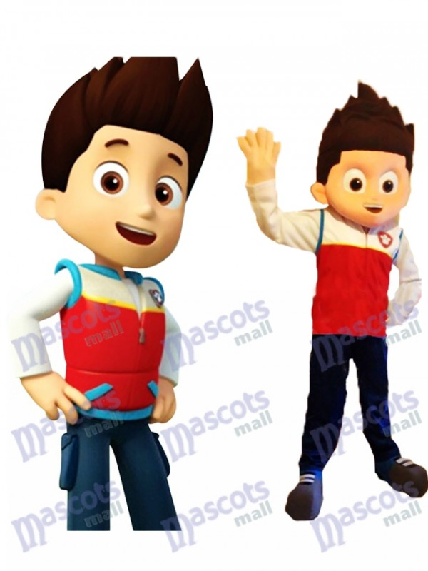 Pat Patrouille Paw Patrol Ryder Mascotte Costume Cosplay Carton Mascotte Costume TYPE A