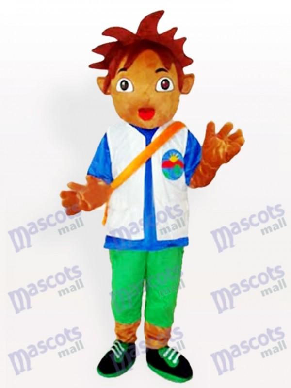 Costume de mascotte adulte Diego