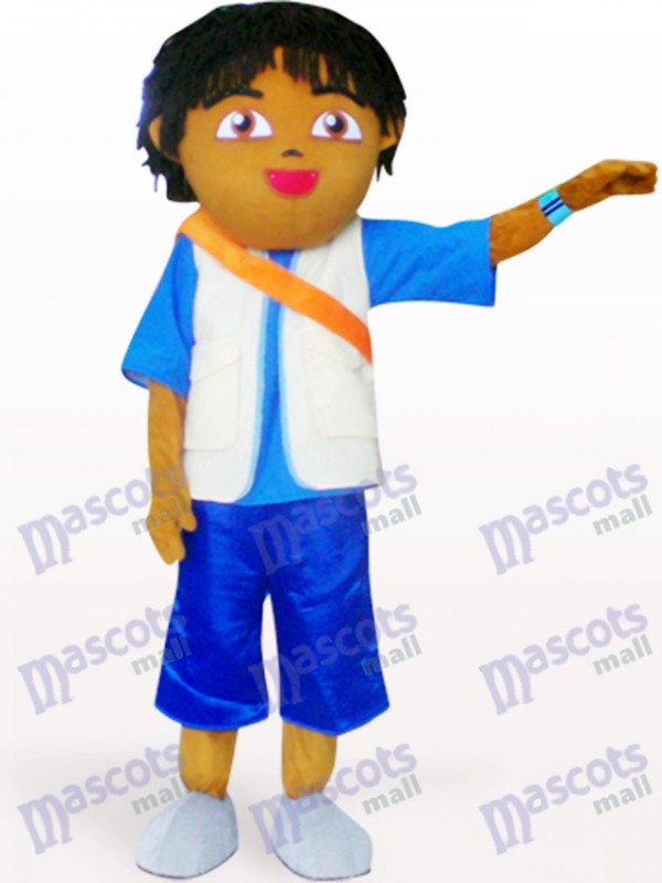Petit ami de Dora Anime Costume de mascotte adulte