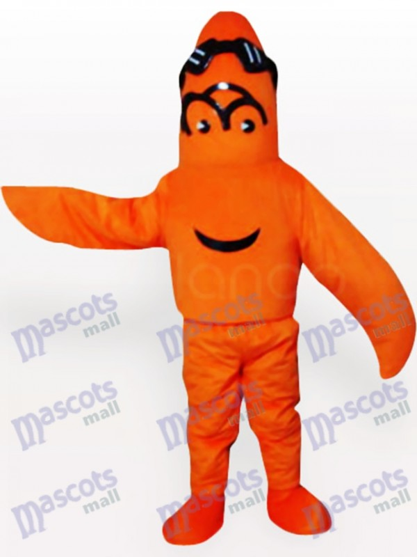 Costume de mascotte adulte Kinky Monster Ocean