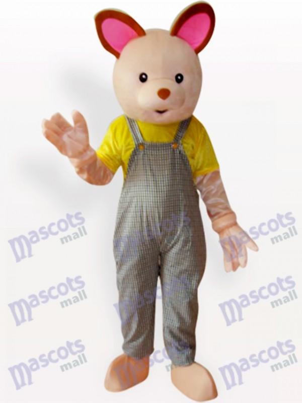 Déguisement de mascotte animal bébé ours