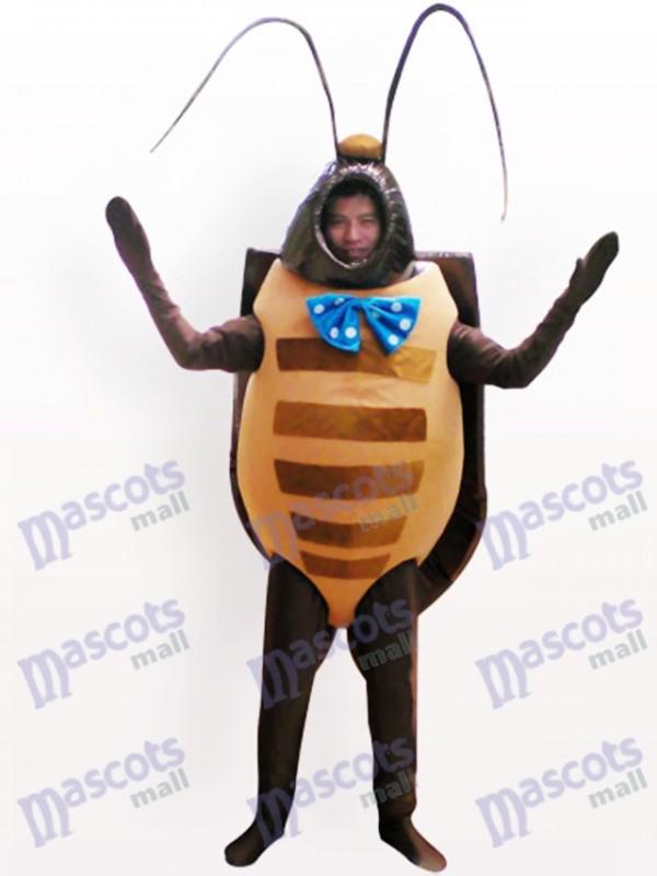 Costume de mascotte adulte insecte noir coléoptère