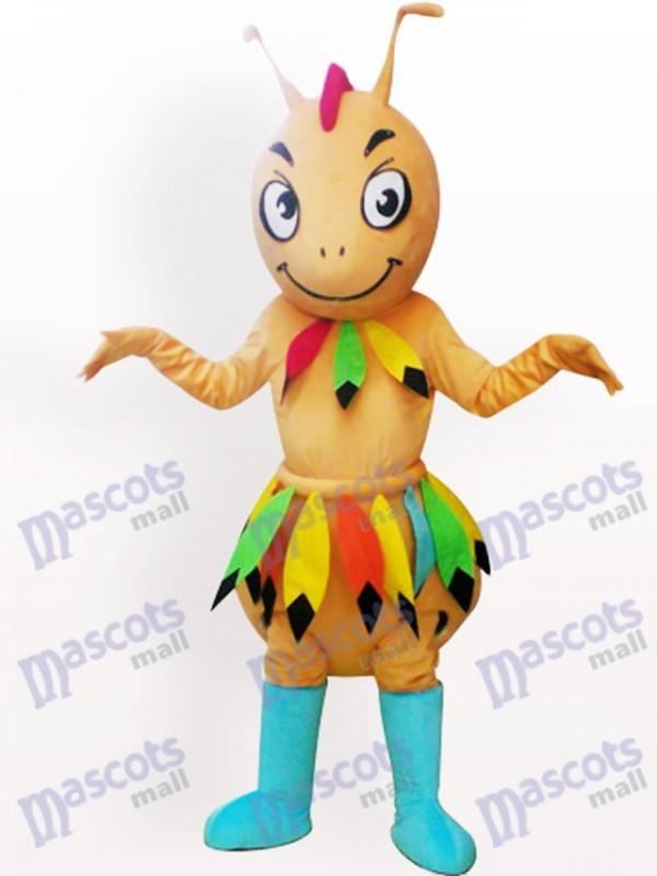 Costume de mascotte adulte fourmilier Cave-man