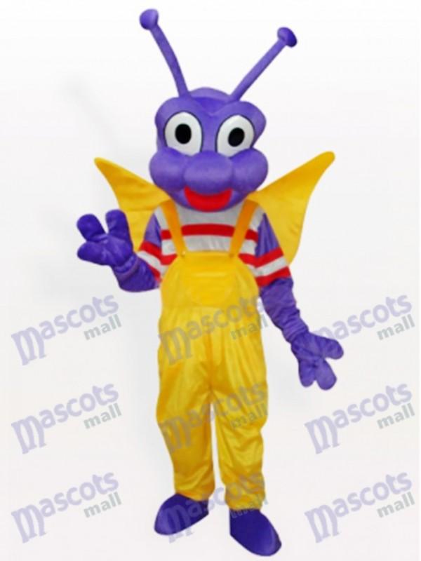 Purple BEE Bo Dudu costume de mascotte adulte