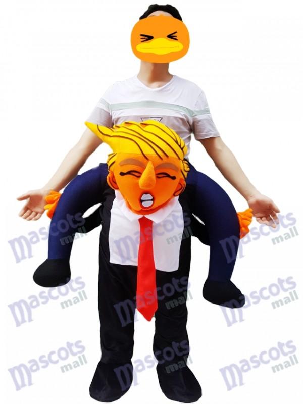 64651ad7786 Carry Me Costume président américain Trump Piggy Back Costume de mascotte