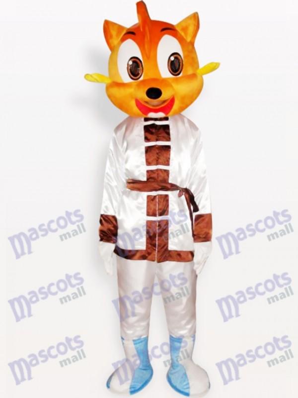 Costume de mascotte adulte animal chat