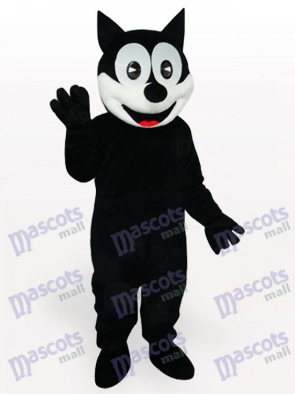 Costume de mascotte adulte chat heureux animaux