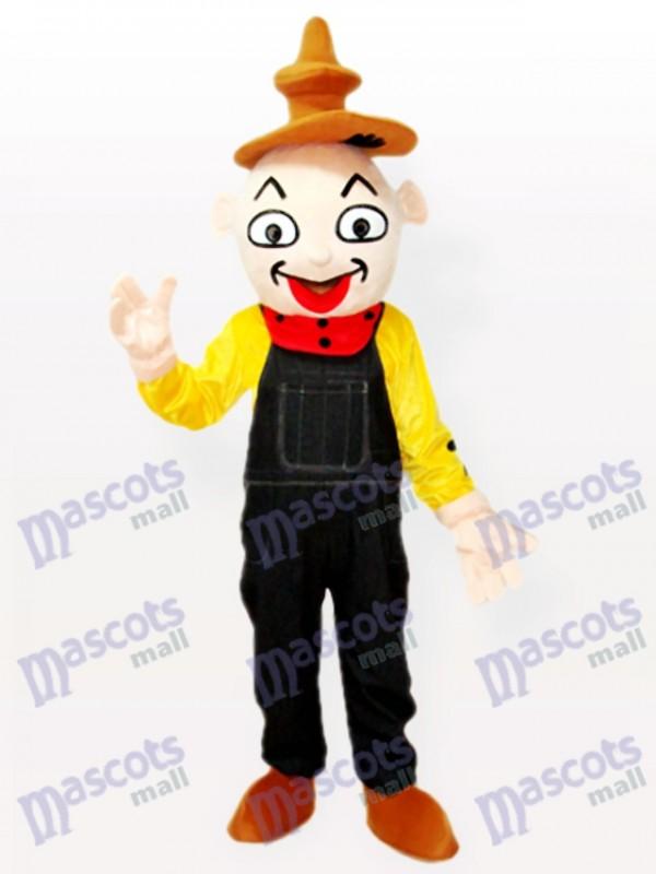 Costume de mascotte adulte clown party