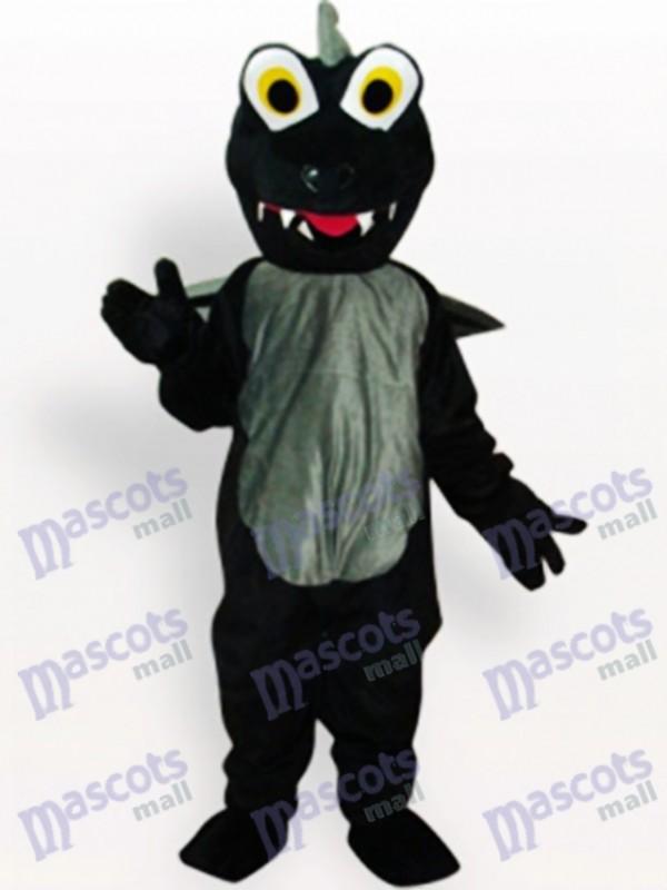 Costume de mascotte adulte animal dinosaure noir