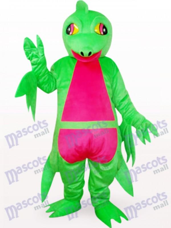 Déguisement de mascotte animal vert ptérosaure