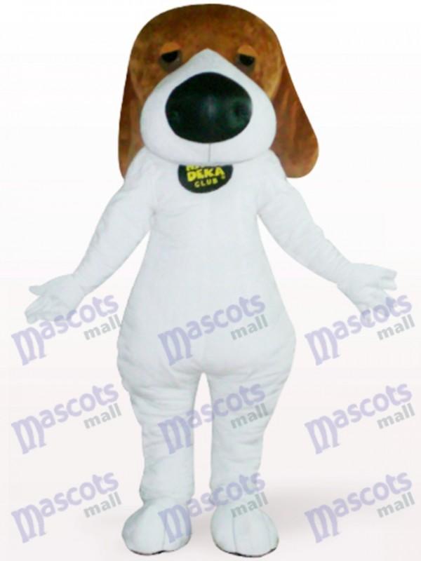 Chien avec Costume de mascotte adulte animal Big Nose