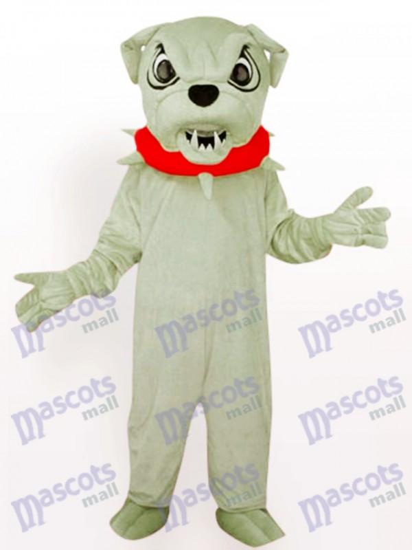 Costume drôle de mascotte de chien de Bulldog de chien