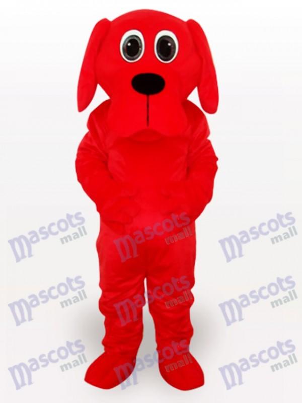 Costume de mascotte adulte Red Rooney Dog