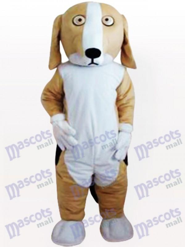 Costume de mascotte adulte vilain chien
