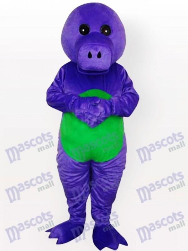 Costume de mascotte adulte dragon violet