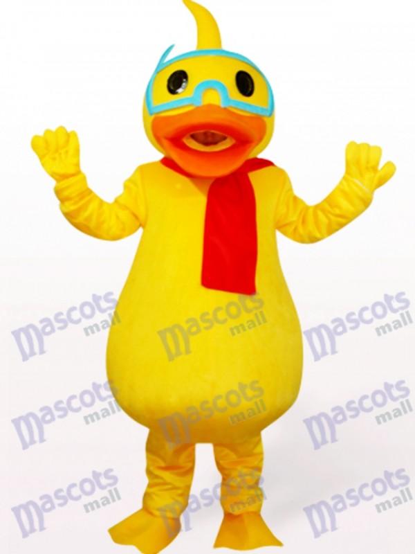 Costume de mascotte de volaille de canard