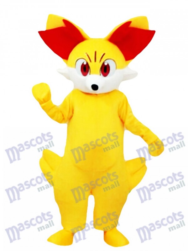Costume de mascotte de Fennekin Fired Pokemon Pokémon GO Pocket Monster