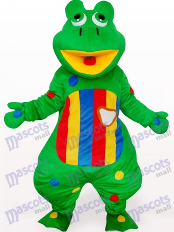 Grog avec Costume de mascotte adulte ventre coloré