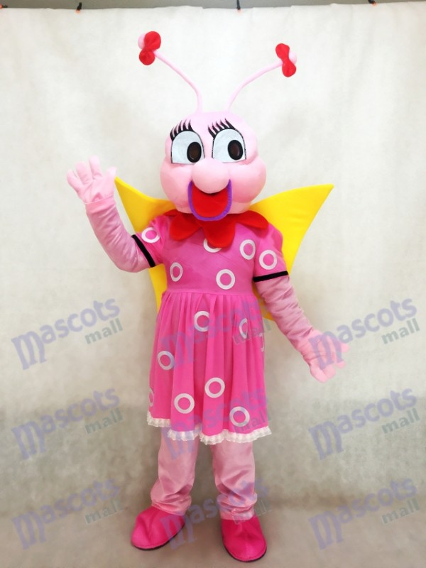 Dame Rose abeille Mascotte Costume Insecte