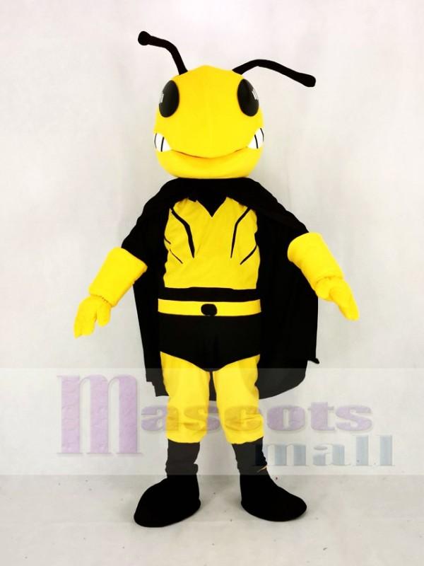 Cool héros abeille Mascotte Costume Dessin animé