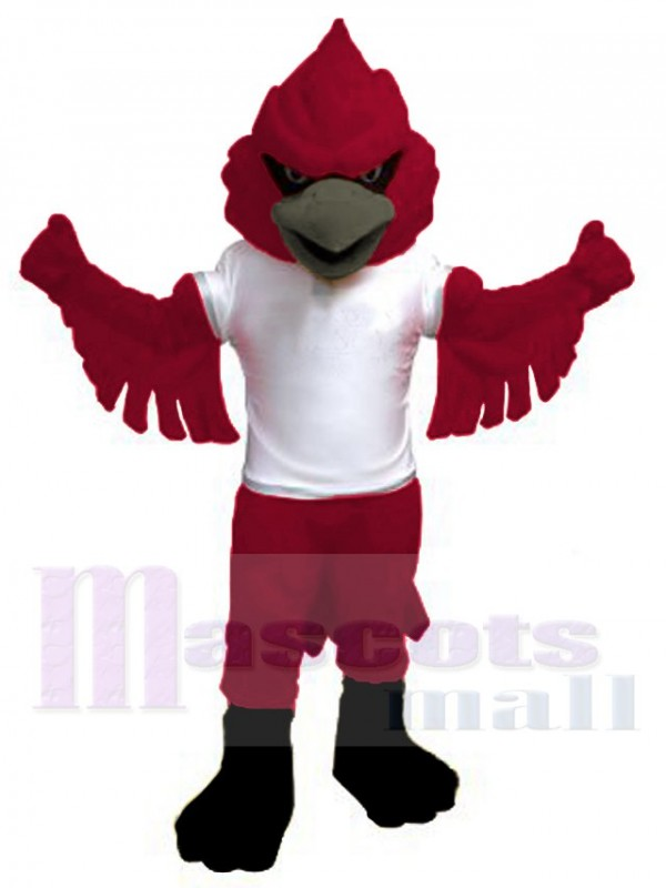 Cardinal maskottchen kostüm