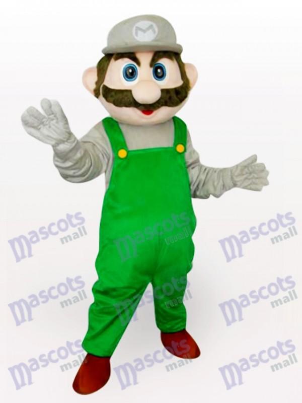 Costume de mascotte adulte verte Super Mario Bros Anime