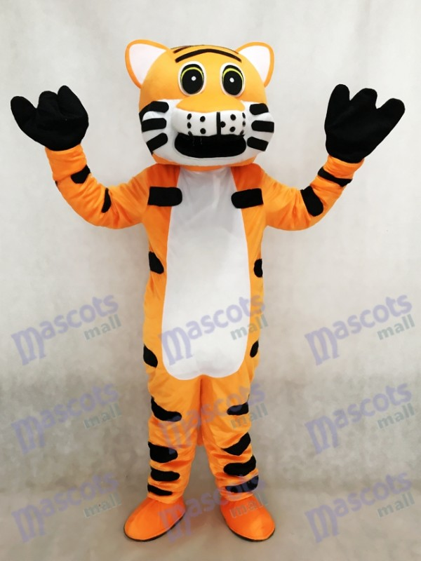 Mascotte de tigre rouge Costume adulte Animal