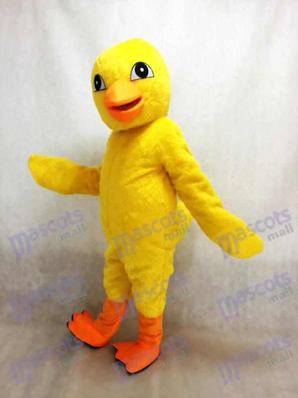 Costume de mascotte de poussin jaune