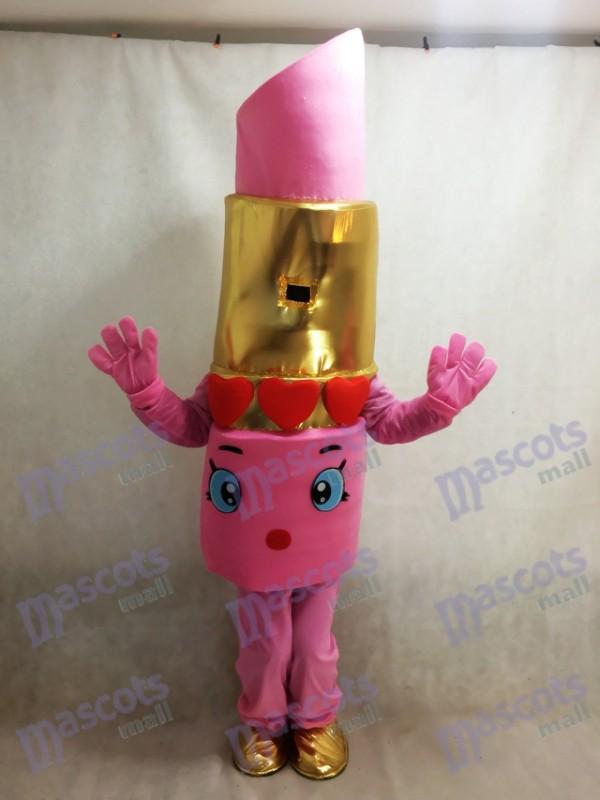 Déguisement mascotte Lipstick de Lips Shop Pink Shopkins