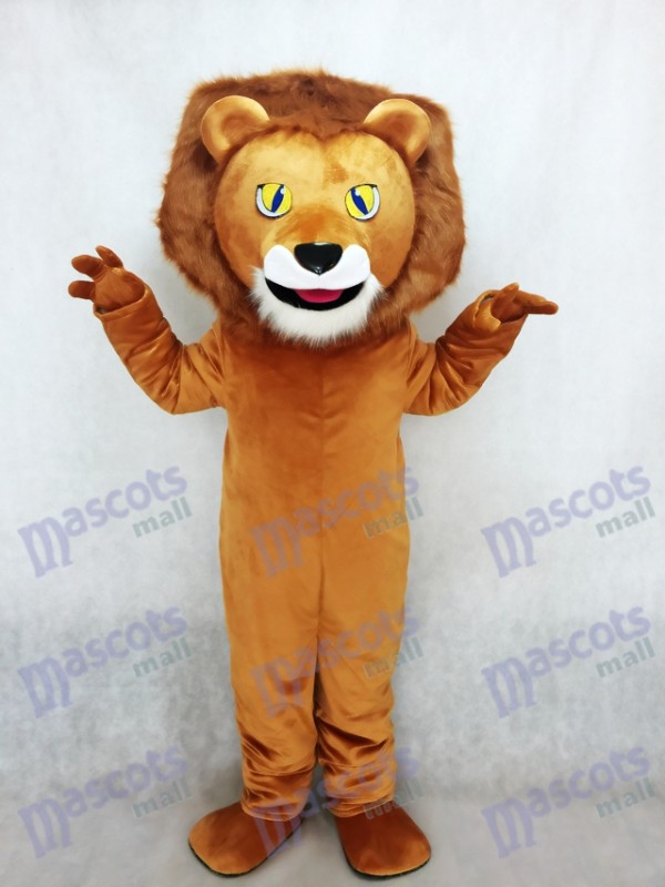 Lewis Le Lion Mascotte Costume Animal