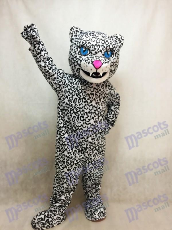 Costume adulte de mascotte de jaguar énergique