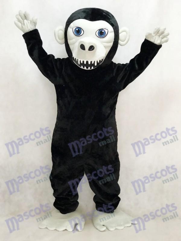 Nouveau Costume de mascotte gorille noire Animal