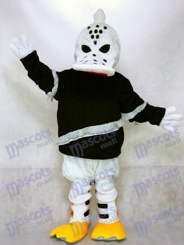 Féroce Aile Sauvage Duck Mascotte Costume Joueur de Hockey sur Glace Animal