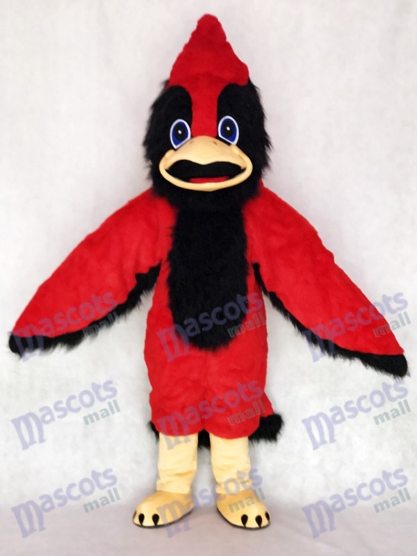 Costume mascotte mignonne Big Red Bird