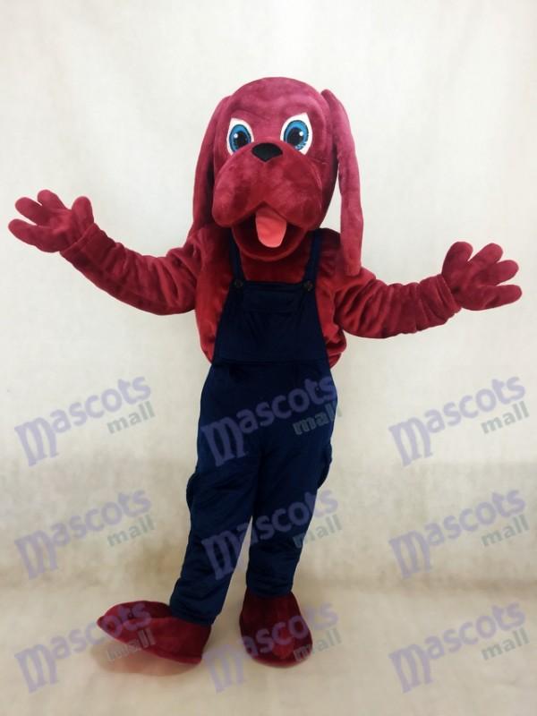 Déguisement de mascotte de chien sanguinaire