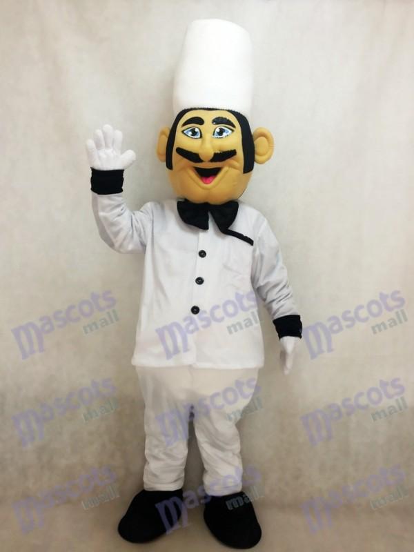 Restaurant Promotion Costume de mascotte de chef cuisinier italien