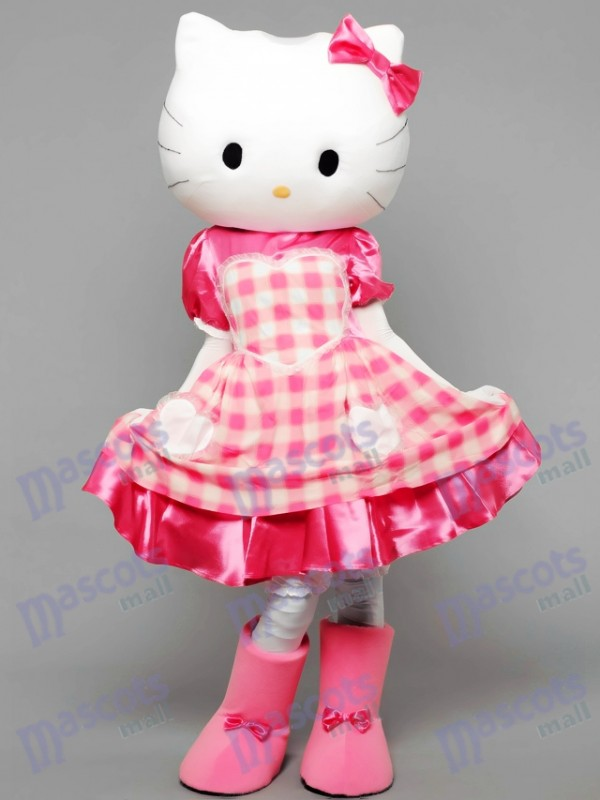 Kitty Le Chat Costume de mascotte Dessin animé animal