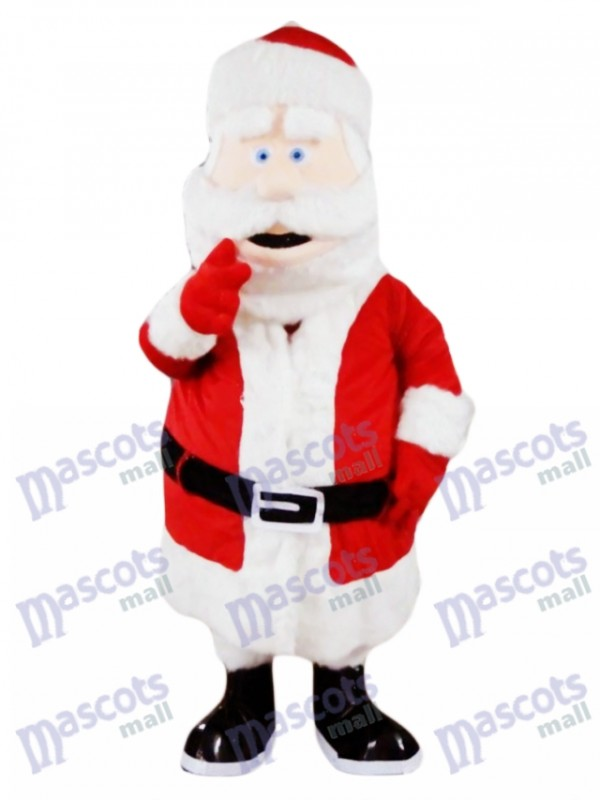 Père Noël Père Noël Noël Mascotte Costume Party