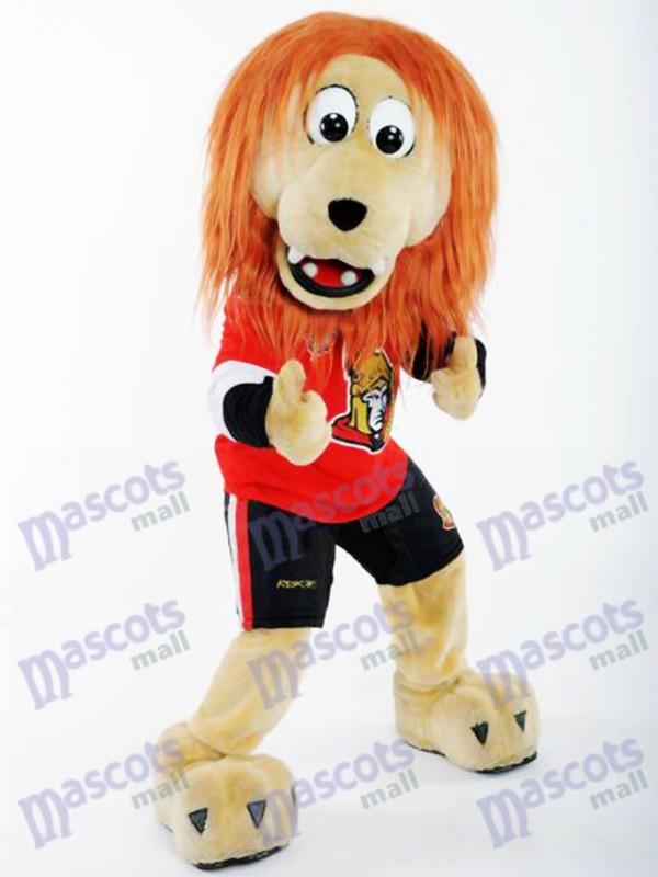 Spartacat Lion de la Mascotte des Sénateurs d'Ottawa Costume Animal