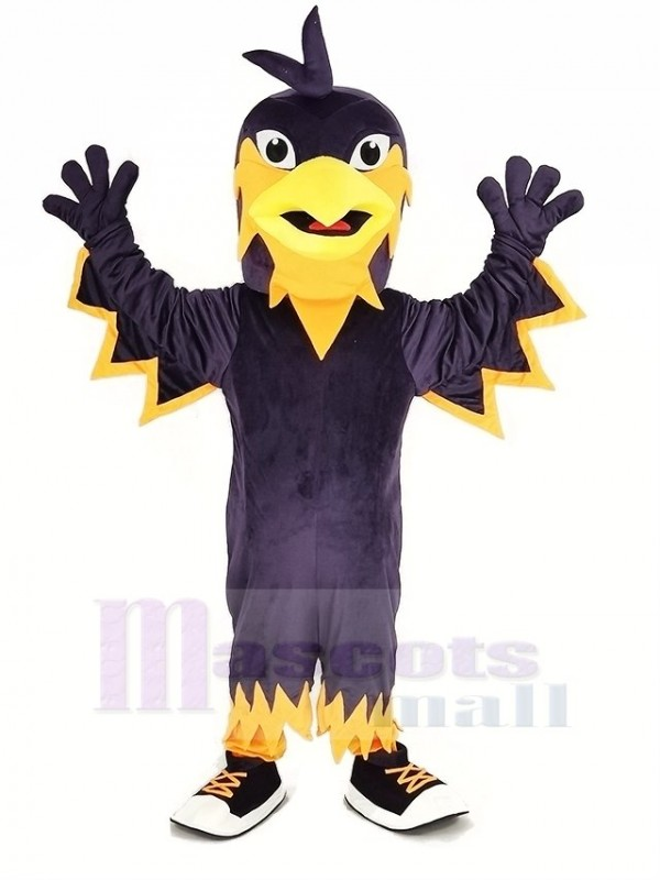 Violet Phénix Mascotte Costume Animal