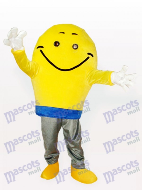 Costume de mascotte de garçon de pomme de terre adulte