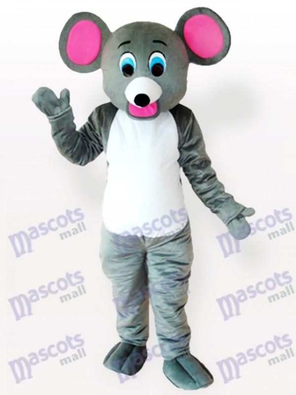 Costume de mascotte animal petite souris grise