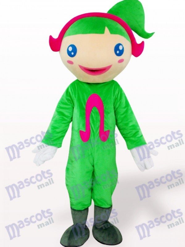 Costume de mascotte adulte vert Ohm Cartoon
