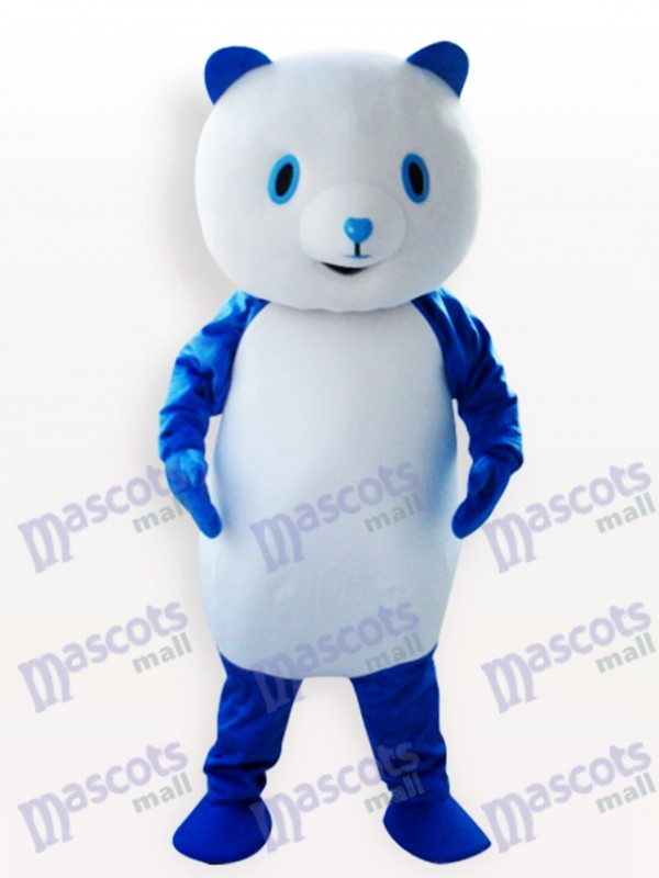 Costume de mascotte adulte bleu Panda Animal