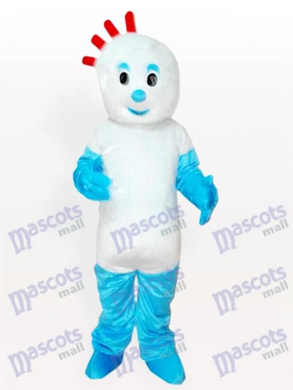 Costume de mascotte adulte de dessin animé de disquette garçon
