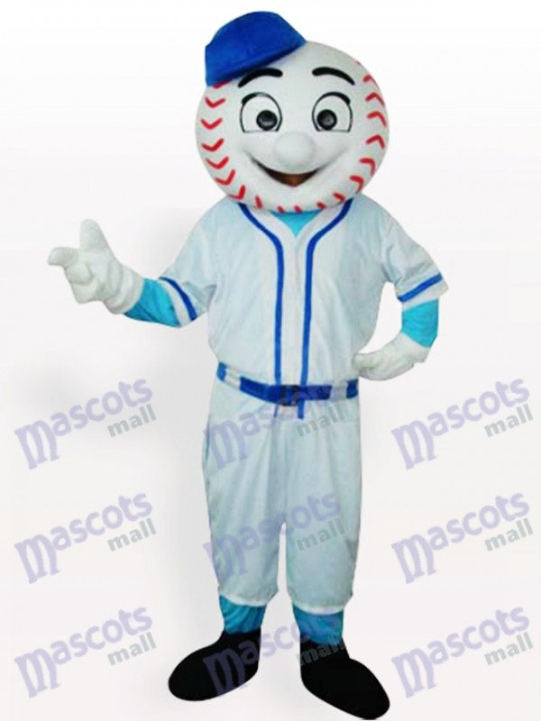 M. Met Mets Baseball Man adulte Costume drôle de mascotte