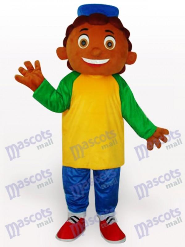 Costume de mascotte adulte Cartoon ananas garçon