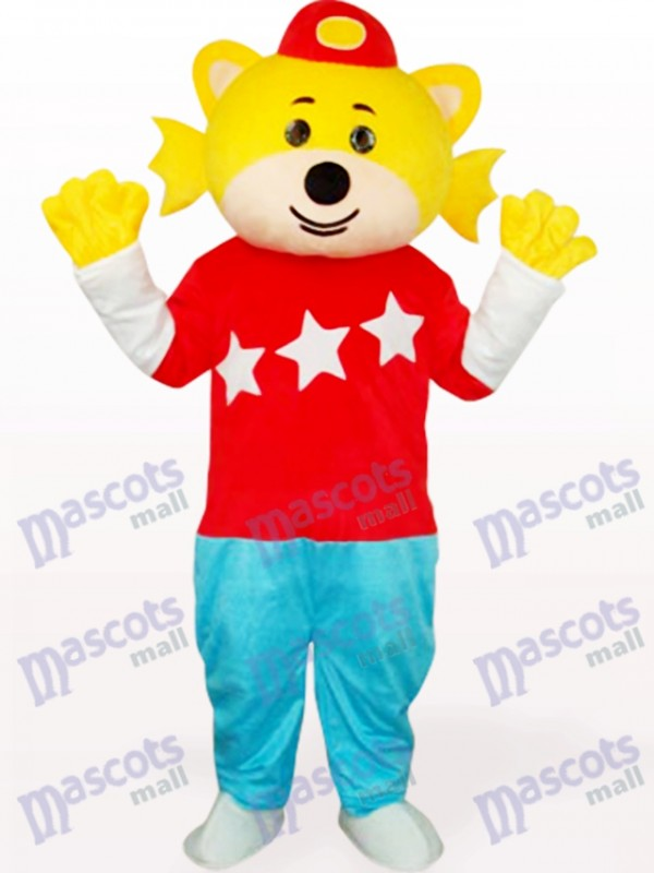 Costume de mascotte adulte Lovely Boy In Red Clothes