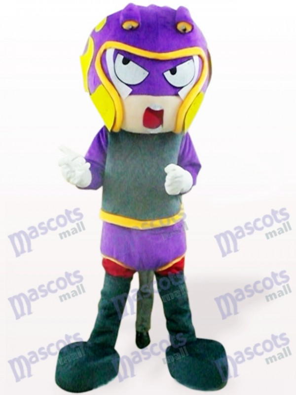 Costume de mascotte adulte Sharp-Shooter de dessin animé