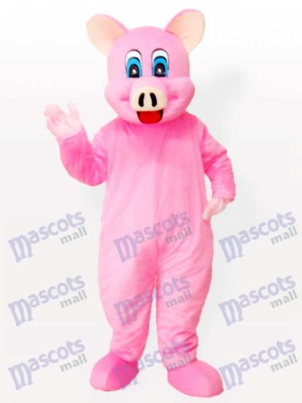 Costume de mascotte d'animal adulte Pinky Piggy Pig